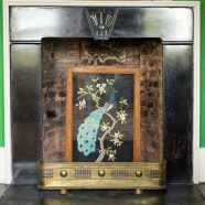 The Green Room Fire Place