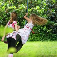 Tyre Swing at Roundwood