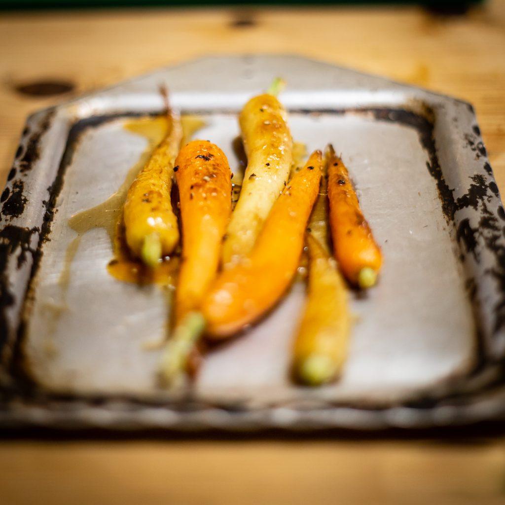 Roast Baby Carrots...